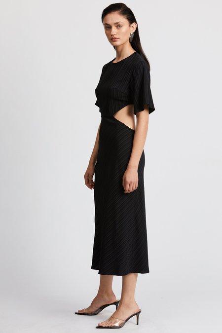 Third Form TIE DYE TEE DRESS - Black