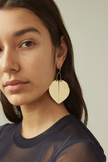 Rachel Comey Heartbreaker Earrings - Gold