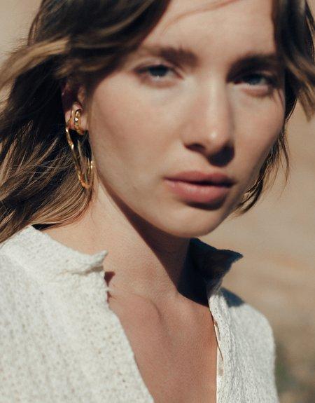 Cled Vale Hoop Earrings