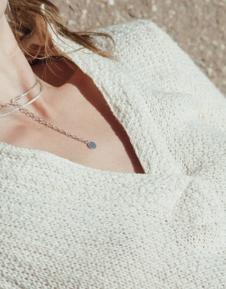 Cled Woven Chain Necklace