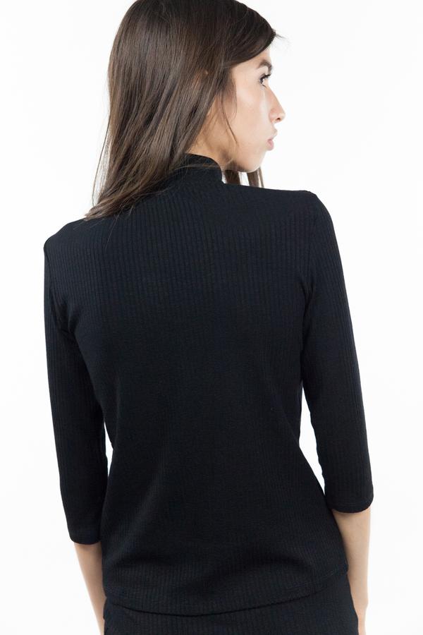 Just Female Rainy Blouse - Black
