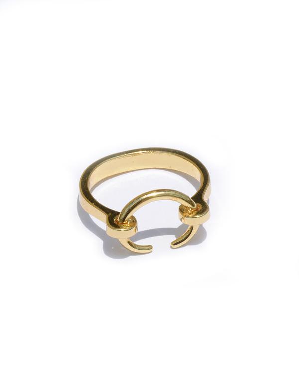 Gabriela Artigas Tusk Reloaded Ring in Gold