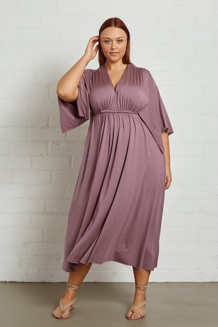 White Label Mid Length Caftan Dress - Orchid