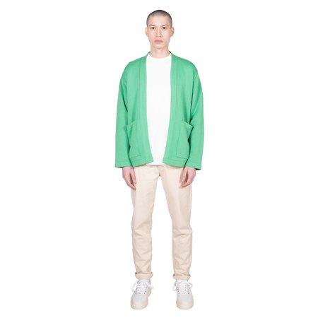 Garbstore The English Difference Kimono - Pea Green