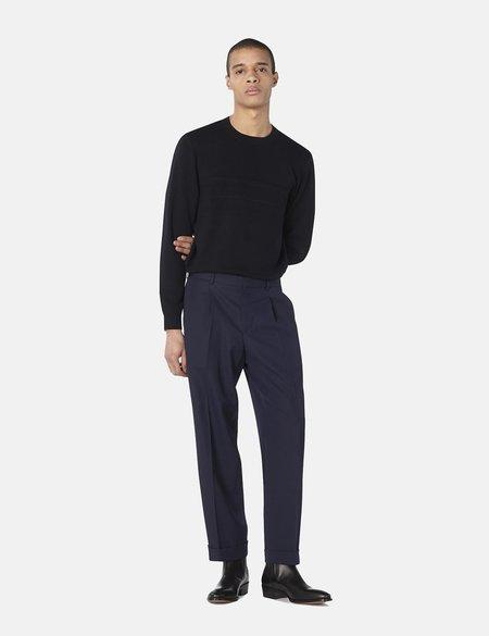 A.P.C. Kirk Wool Blend Gabardine Trouser - Dark Navy Blue