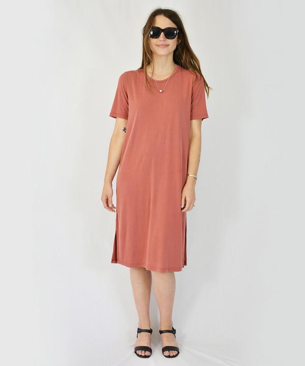 Just Female Marsala Pen Dress