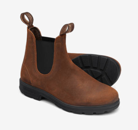 Blundstone 1911 Elastic Sided Suede Boot - Tobacco