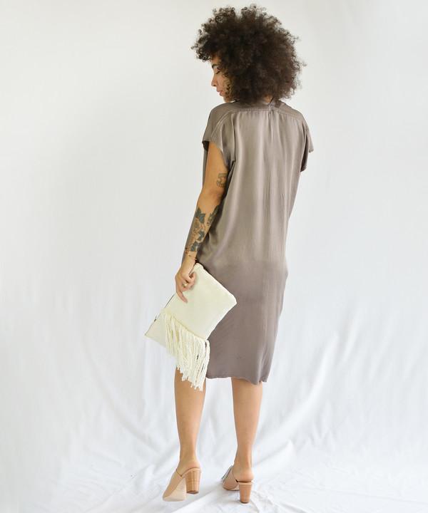Miranda Bennett Olive Everyday Dress