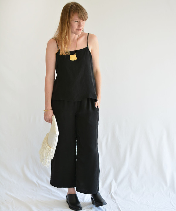 Objects Without Meaning Black Cami