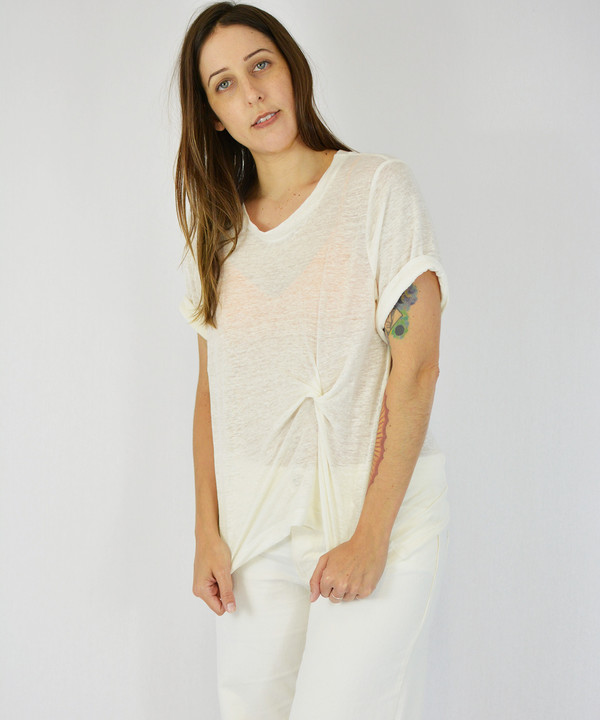 Objects Without Meaning Chalk Twist Tee