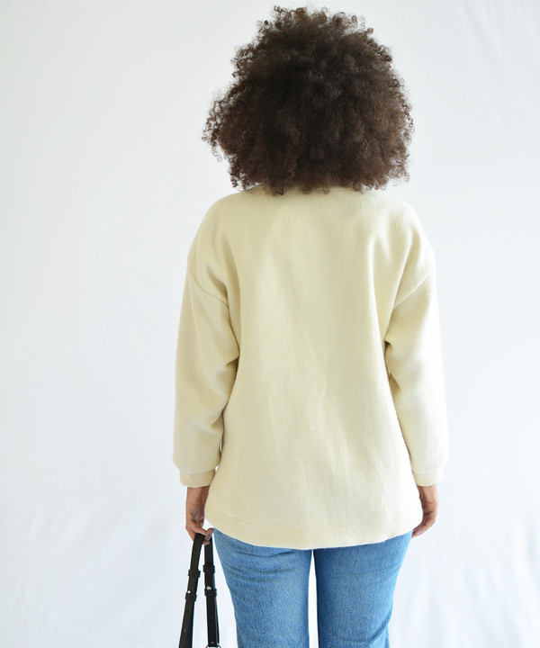 Objects Without Meaning Ivory Bed Jacket