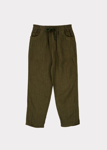 Kids Caramel Aldgate Trouser - Army Green