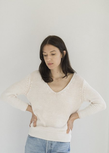 Line Knitwear Solana - Alabaster