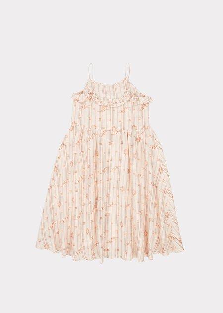 Kids Caramel Greenwich Dress - Rose Tan