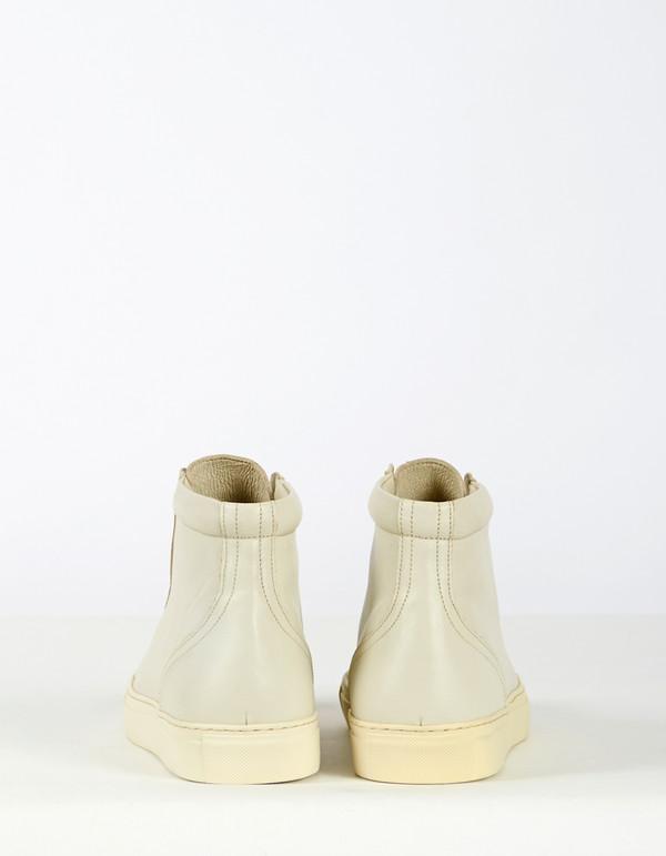 Men's Garment Project Legend High Top Sneaker Off White