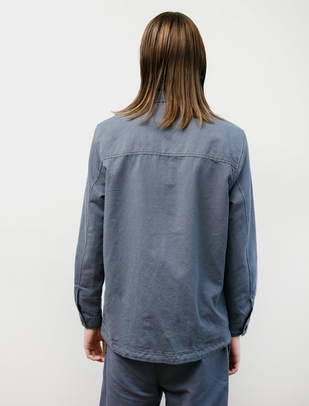 Sunspel Summer's Day Jacket - Blue Slate