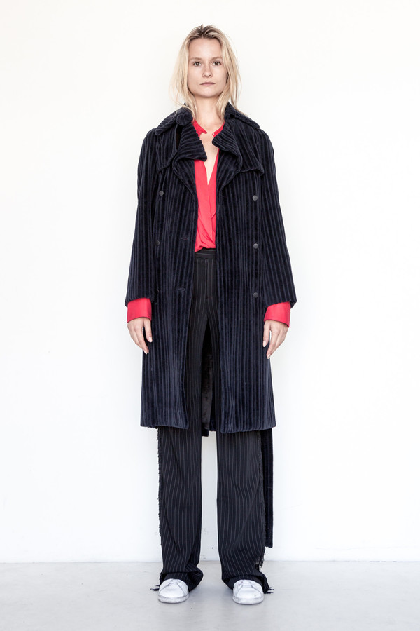 Assembly New York Corduroy Standard Trench