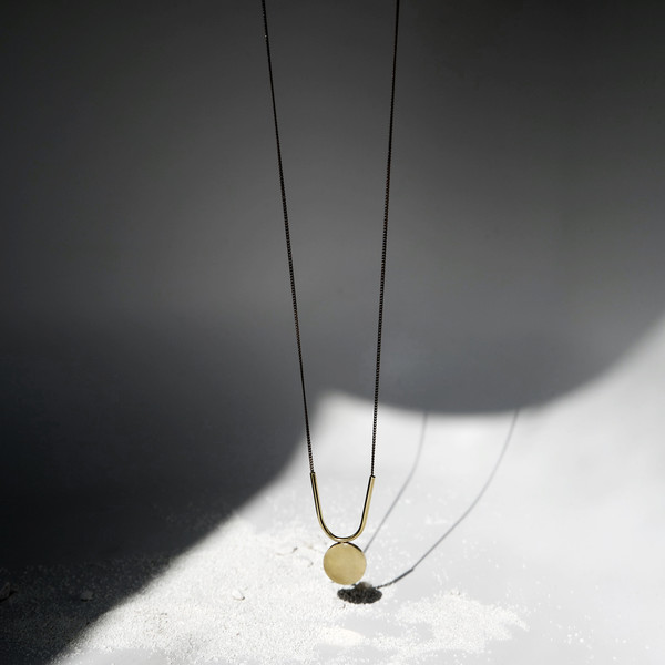 7115 by Szeki U + Disc Necklace J16