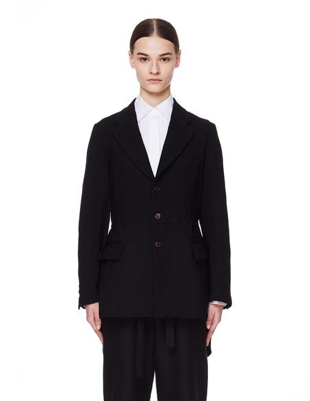Comme des Garcons Black Cutout Jacket