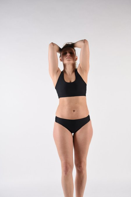 MARGARET AND HERMIONE Sport Top - Black
