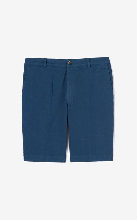 Kenzo Garment Dyed Chino Shorts - Blue