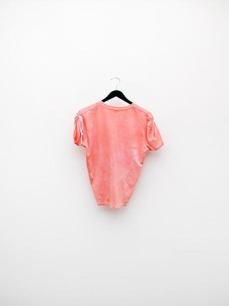 Audrey Louise Reynolds T-Shirt w/Ties - Red