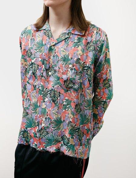 Needles Cut Off Bottom Shirt - Floral