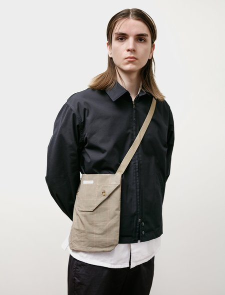 Engineered Garments Shoulder Pouch - Khaki