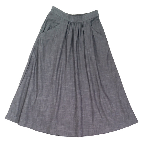 Curator Fawn Denim Skirt
