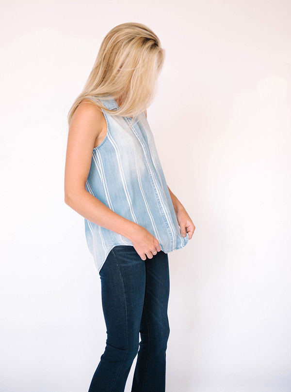 Bella Dahl Sundrenched Button Back