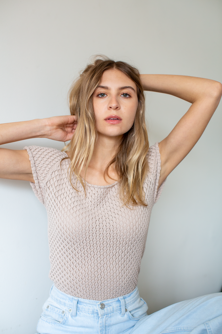 MILA ZOVKO MILA Sweater - Sand