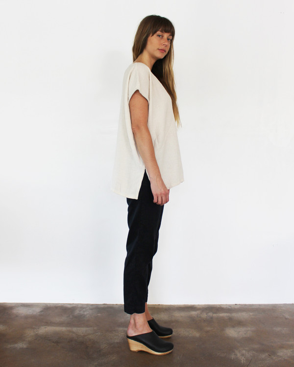 esby AVERY TUNIC TOP - IVORY
