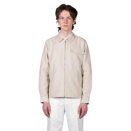 Schnayderman's Zipshirt Cotton Linen Twill - Sand