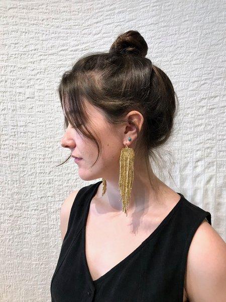 Salihah Moore Ori Earrings - 24kt plated/14kt gold fill