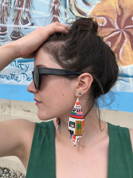 Salihah Moore Otti Earring - 14kt gold fill/Multi