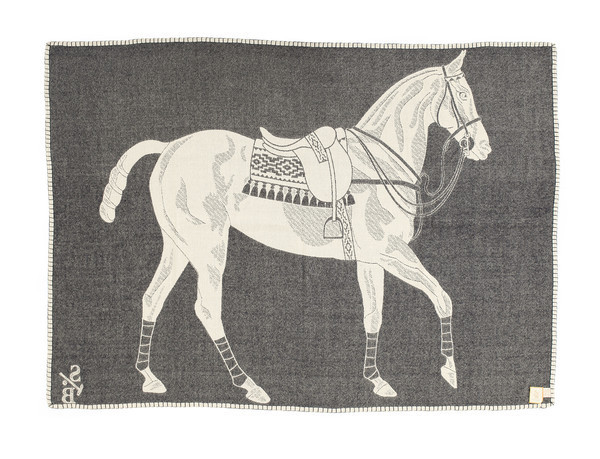 Stick & Ball Polo Pony Throw