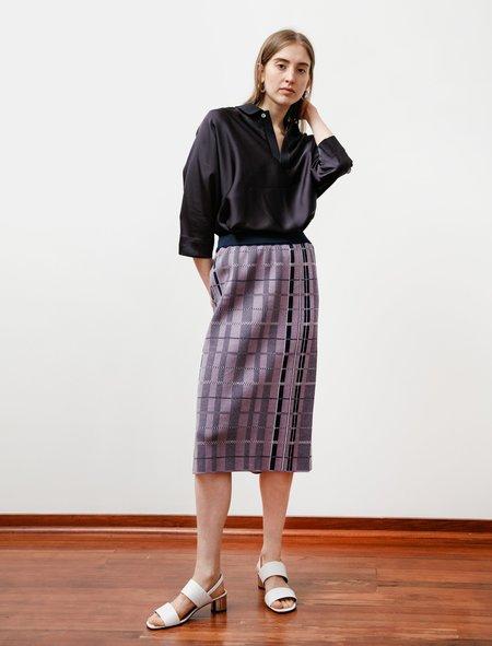 Stephan Schneider Skirt - Cooling Check Lilac