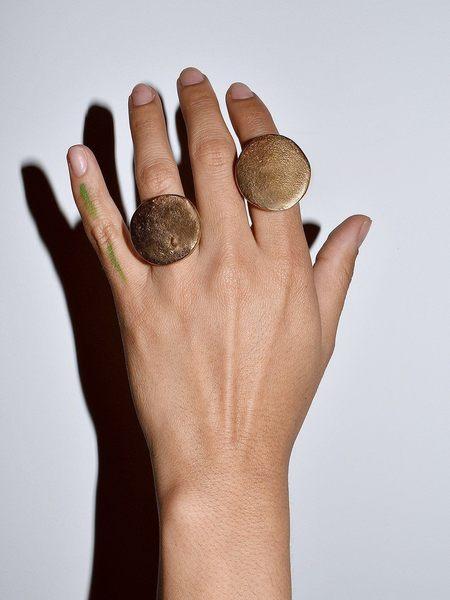 Lili T. California Monster Ring - Bronze