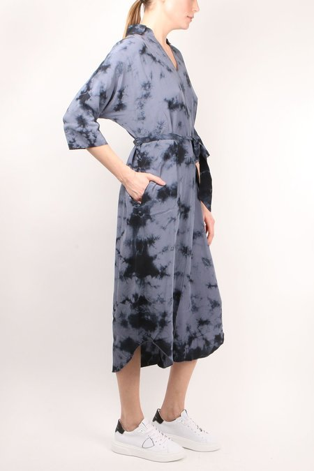 SOURCERY Byron Shirt Dress - Indigo