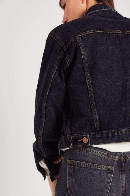 Still Here New York The Rickie Jacket - washed black