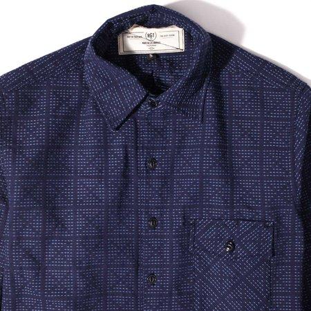 Rogue Territory Oxford Work Shirt Stitch Sashiko