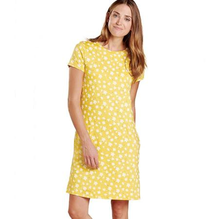 Toad & Co Windmere SS Dress - Pineapple Tossed Floral