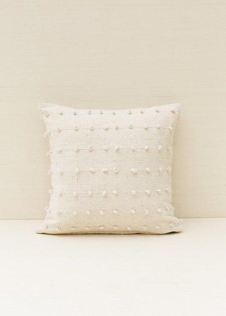 Territory Loops Pillow - Cream