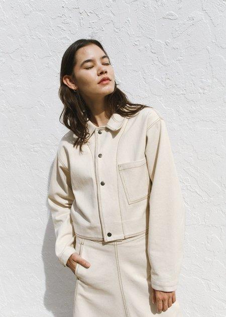 JOWA. Repeller Stitch Cotton Set up Jacket