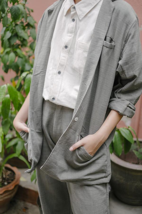 Seeker Studios Signature Classic Trousers - Grey