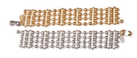 ALYNNE LAVIGNE - Ball Chain Cuff