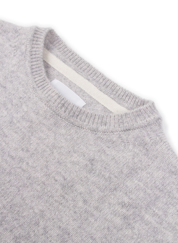 Norse Projects Sigfred Lambswool Grey Melange
