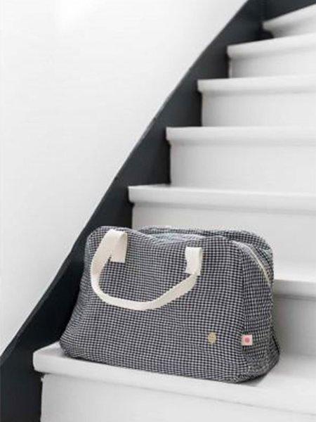 La Cerise Sur Le Gateau Weekend Bag in Ernest Caviar