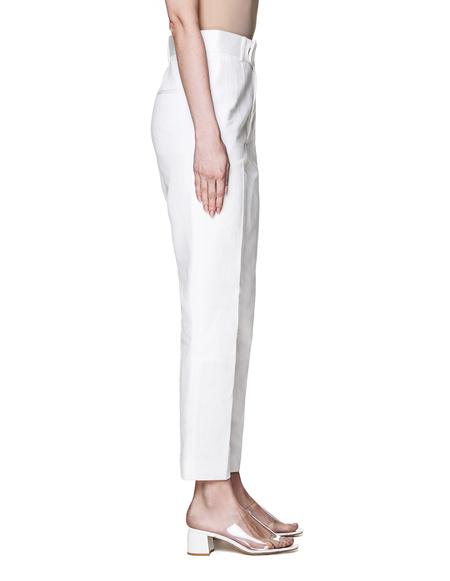 Haider Ackermann Cotton Trousers - White