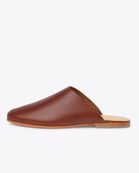Nisolo Lima Slip On - Brandy